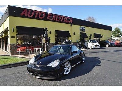 Porsche: 911 Turbo GT2 2002 Porsche 911 Turbo GT2 Manual GARAGED Coupe BLACK LOW MILEAGE