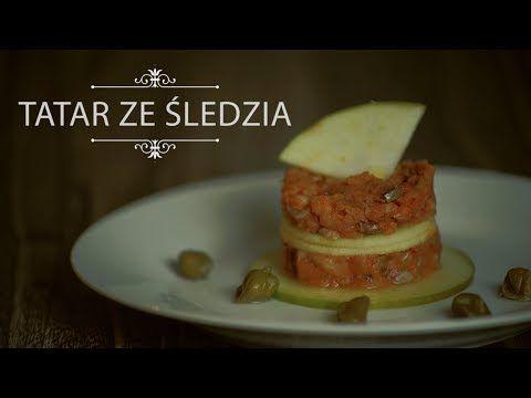 Tatar ze Śledzia - Przepis Saute.pl - YouTube