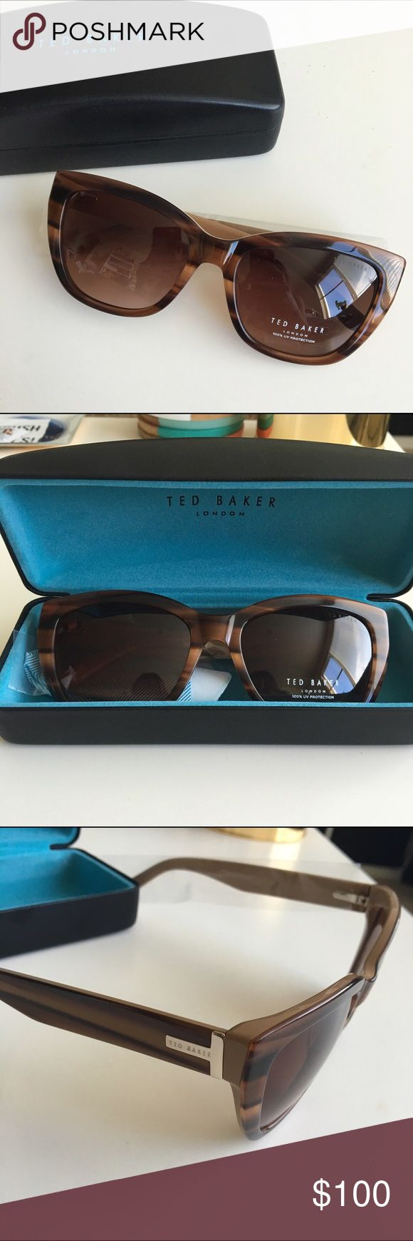 Selling this ⏰LAST CHANCE⌛️ NWT Ted Baker cat eye sunglasses on Poshmark! My username is: wanderlust15. #shopmycloset #poshmark #fashion #shopping #style #forsale #Ted Baker #Accessories