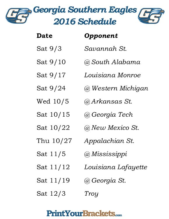 Bucknell University Football Schedule