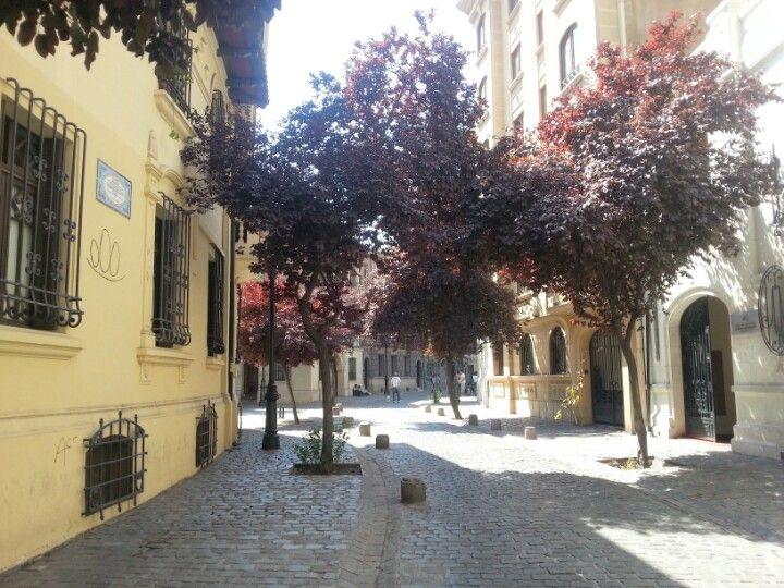 Barrio parís londres en santiago de chile metropolitana de santiago de chile