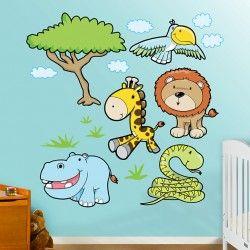 #muurstickers babykamer