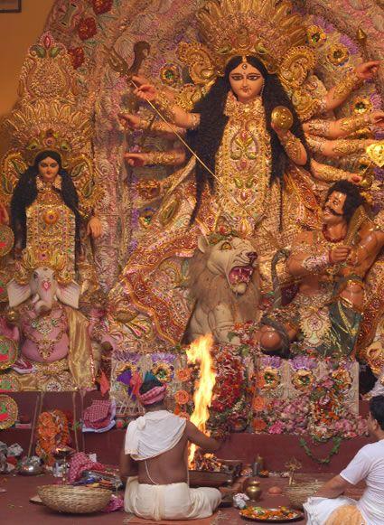 Durga Puja Celebration https://www.facebook.com/IndiaWithKrystal