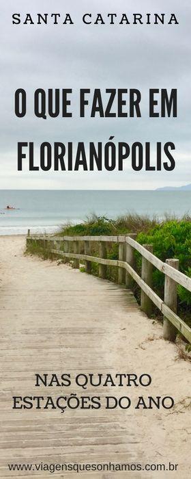 Roteiro de quatro dias em Florianópolis, com dicas de passeios e hospedagem na Ilha da Magia.