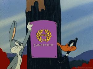 Thank God Bugs Bunny is on Camp Half Blood side.