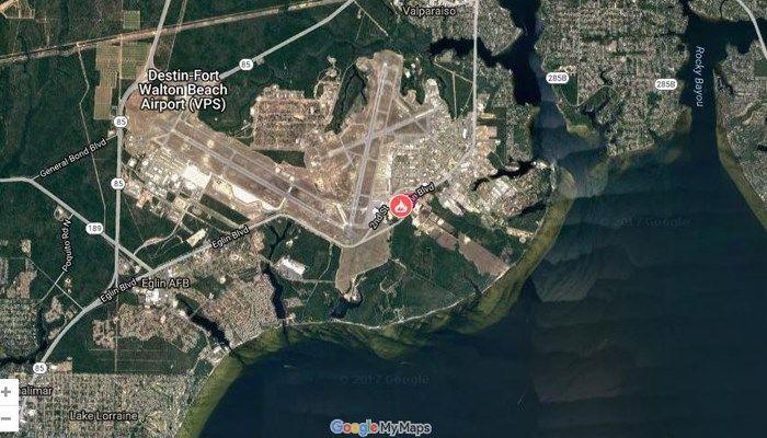 An explosion has occurred on Eglin Air Force Base near Fort Walton Beach, FL.