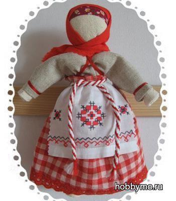 Народная очистительная кукла: Тряпичная кукла-оберег своими руками