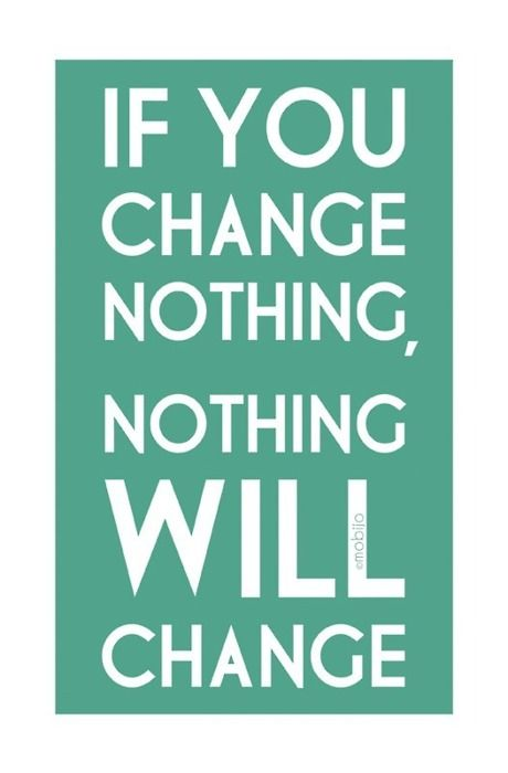 If you change nothing, nothing will change. Be the change you want to see in the world. What are you waiting for? @hopesproject #education #hope