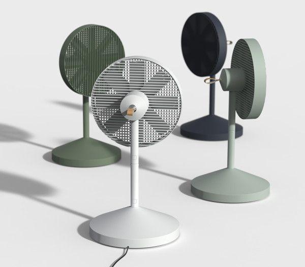 Blow Away, Stow Away: Conbox Electric Fan by JiyounKim Studio