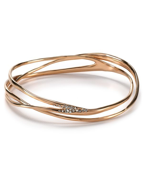 Alexis Bittar Miss Havisham Pave Wave Bangle #Accessories