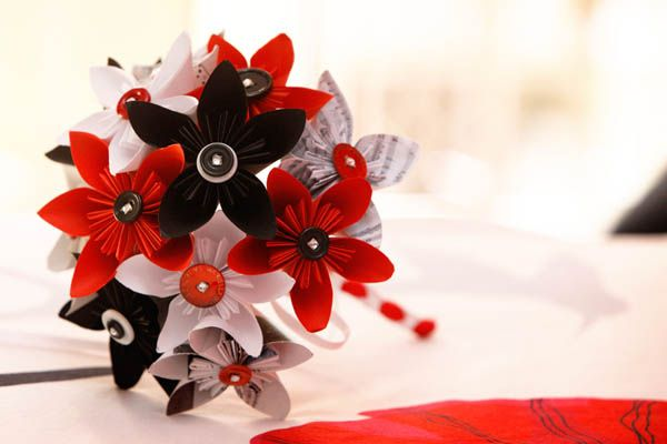 Origami per un matrimonio geek: Monica e Gianluca