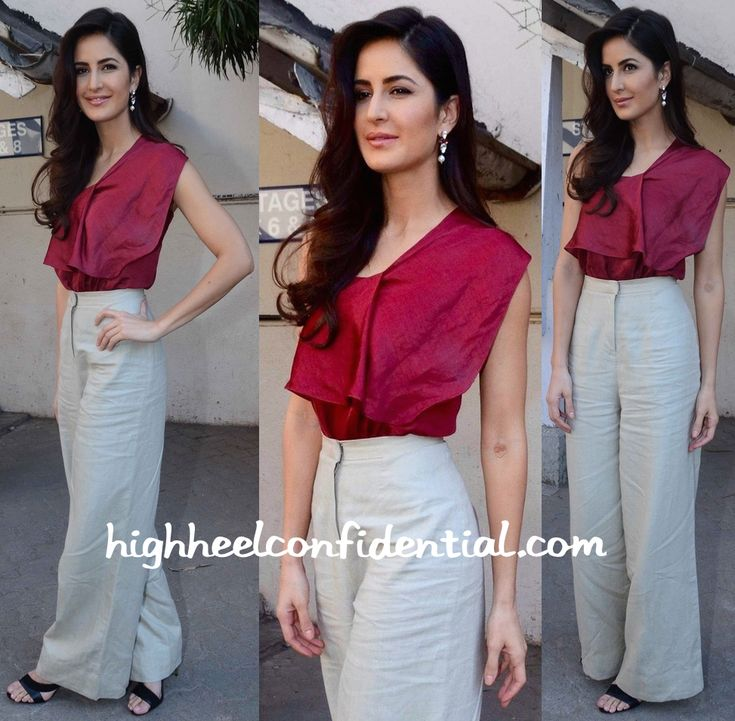 Katrina Kaif In Lola By Suman B At Fitoor Promotions-1