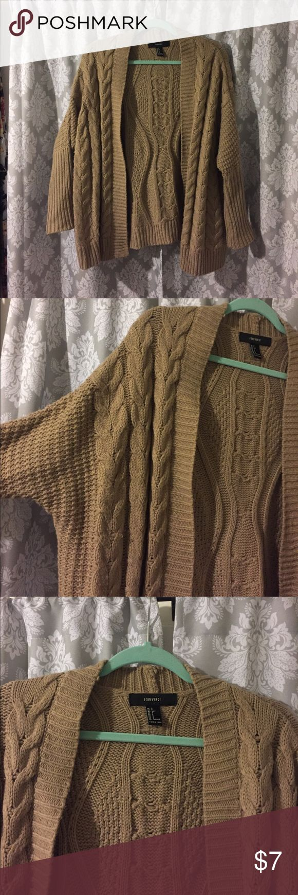 Forever 21 grandpa sweater This grandpa sweater is super comfortable and not too long on the Torso! Forever 21 Sweaters Cardigans
