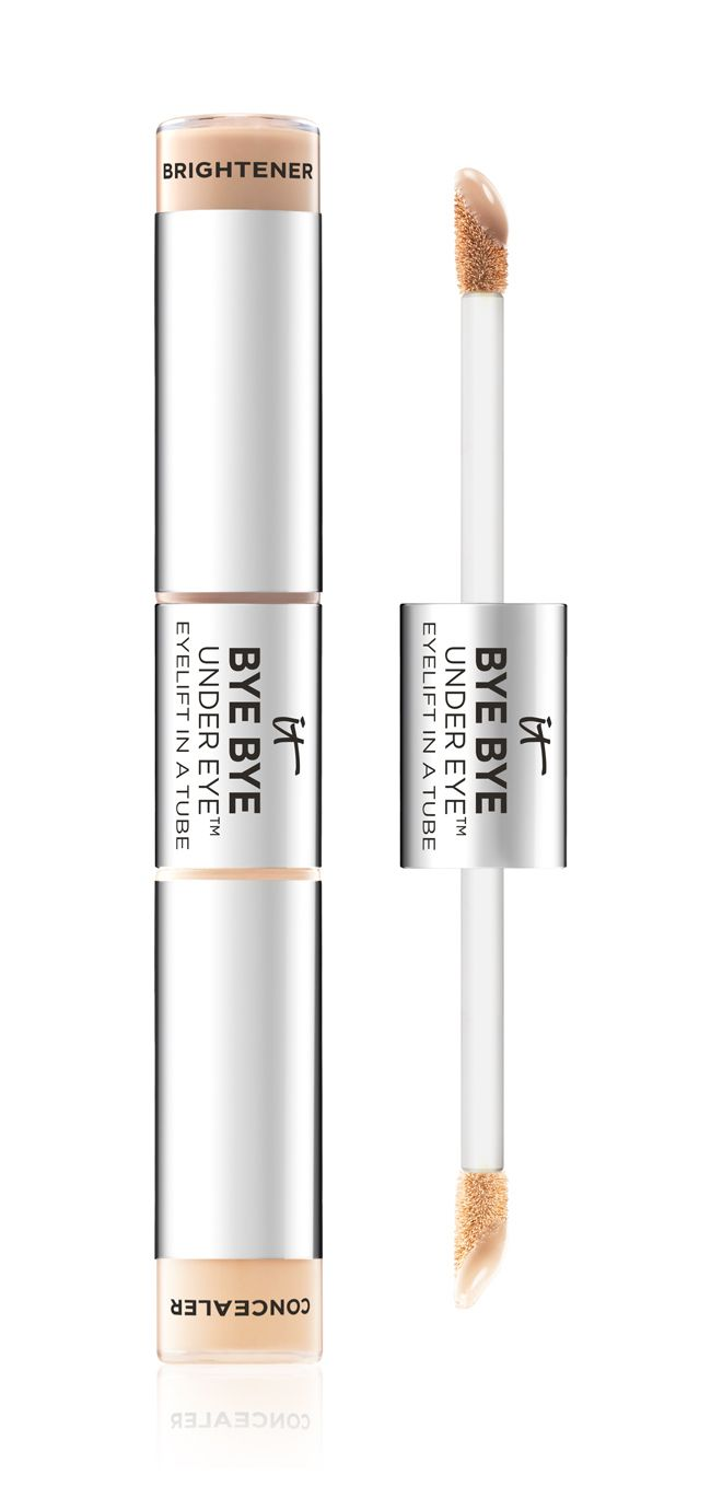 Finding the right under eye concealer comes down to how well it covers those dark circles. IT Cosmetic Bye Bye Under Eye Lift is waterproof and highly pigmented, so it covers even the darkest rings. It's also infused with skin care ingredients such as hyaluronic acid and collagen to plump up the skin, which not only makes dark circles less noticeable, but also wrinkles.
