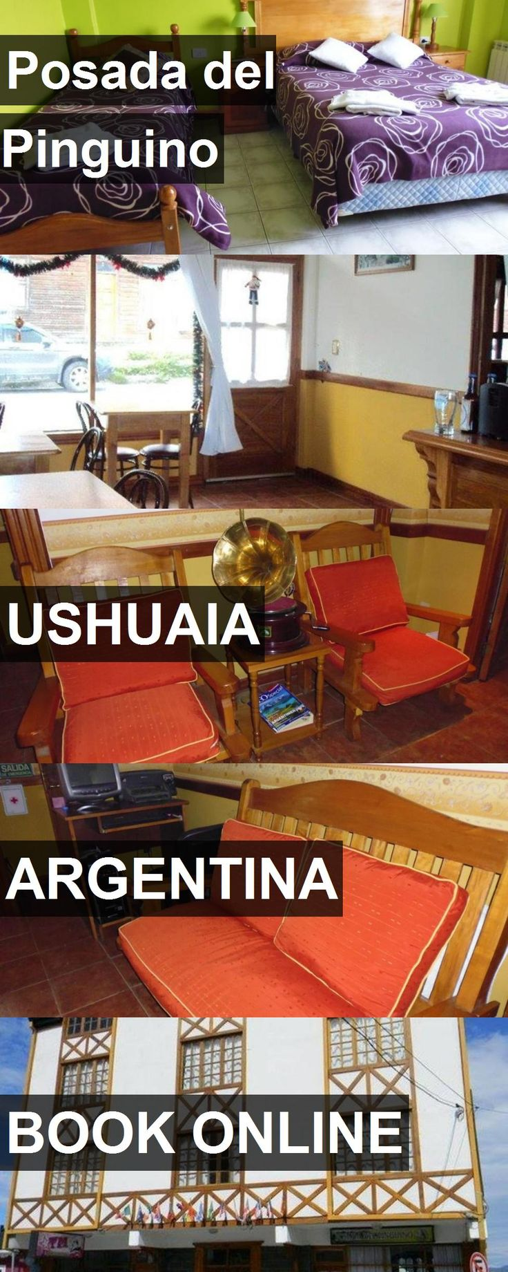 Hotel Posada del Pinguino in Ushuaia, Argentina. For more information, photos, reviews and best prices please follow the link. #Argentina #Ushuaia #hotel #travel #vacation