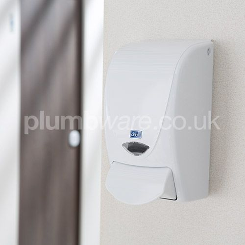 These easy to use soap dispensers are made from tough, hard wearing ABS plastic to ensure long life. The Non-Drip, Non-Clog dispensing mechanism requires minimal maintenance.