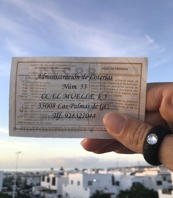 Spanische Weihnachtslotterie El Gordo Lanzarote Magazin Lanzarote Verlosung Nachstenliebe