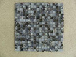 Stone Glass 5/8 X 5/8 Castano Chocolate Mix