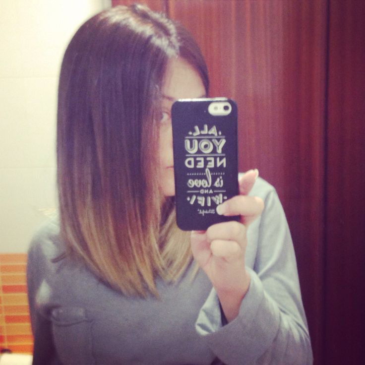 Mechas californianas en media melena