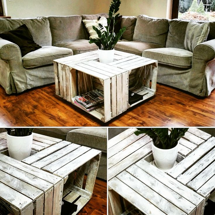#tabe #coffee #coffetable #home #woodworking #pallets #natural #wood #repurpose #upcycling #reclaimed #recycling #eko #box #applebox #skrzynka