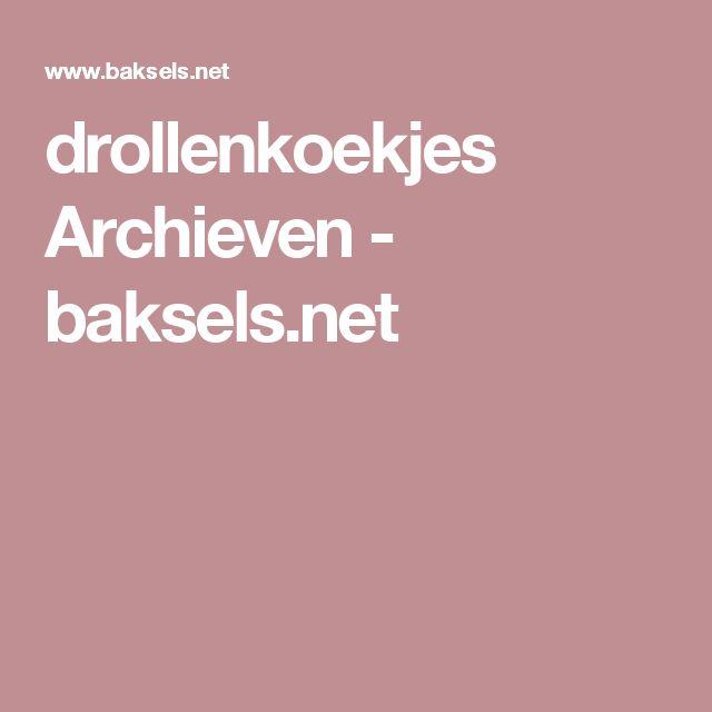 drollenkoekjes Archieven - baksels.net
