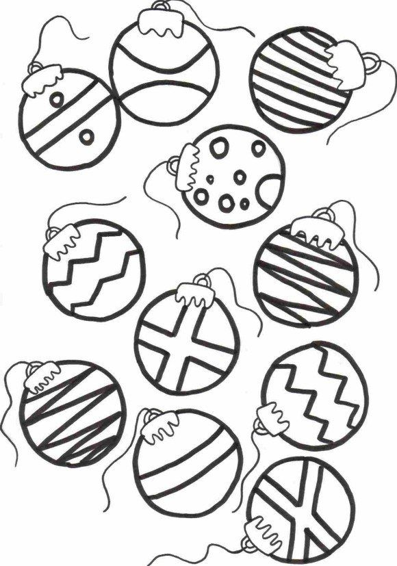 Christmas Coloring Christmas Coloring Pages For Kids Ornaments