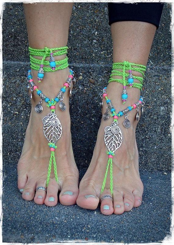 Sandalias descalzas: El nuevo accesorio para adornar los pies - IMujer