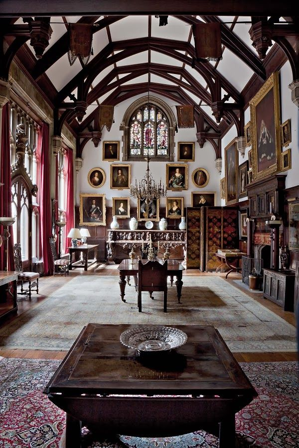 An English Hall From THE ENGLISH COUNTRY HOUSE By Jeremy Musson I Want To Fill This Room With Couches And Books Antlers Stacks Of Wood For The Fire