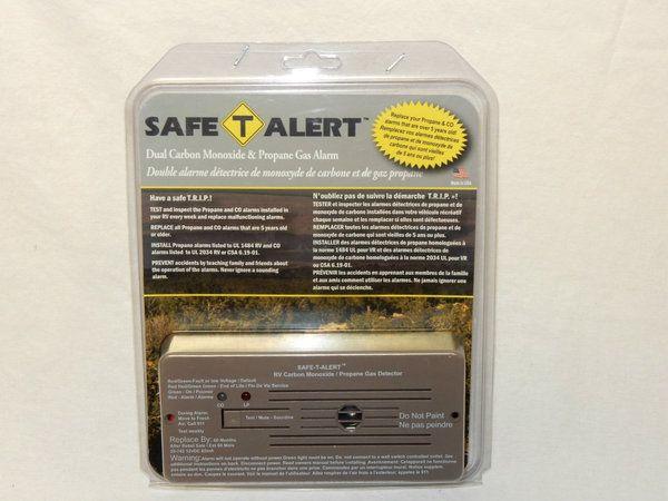 Safe T Alert Propane & Carbon Monoxide Alarm (Brown)
