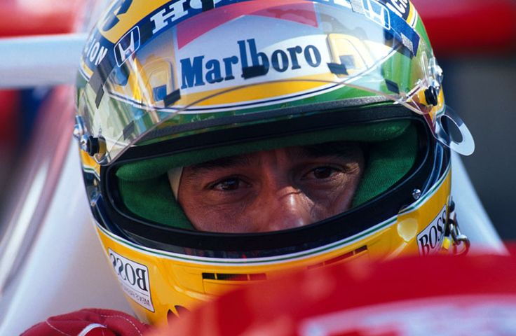 Ayrton Senna. You were one of the greats.