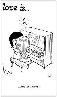 love is... the key note...: Amor Es, Keys, Love Is, Amazin Quotes, Is Comic, Comics, Funnies Music Pictures, Comic Strips