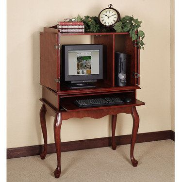 Queen Anne Computer Desk Set I Could Put This In My Bedroom Decorating Ideas Pinterest
