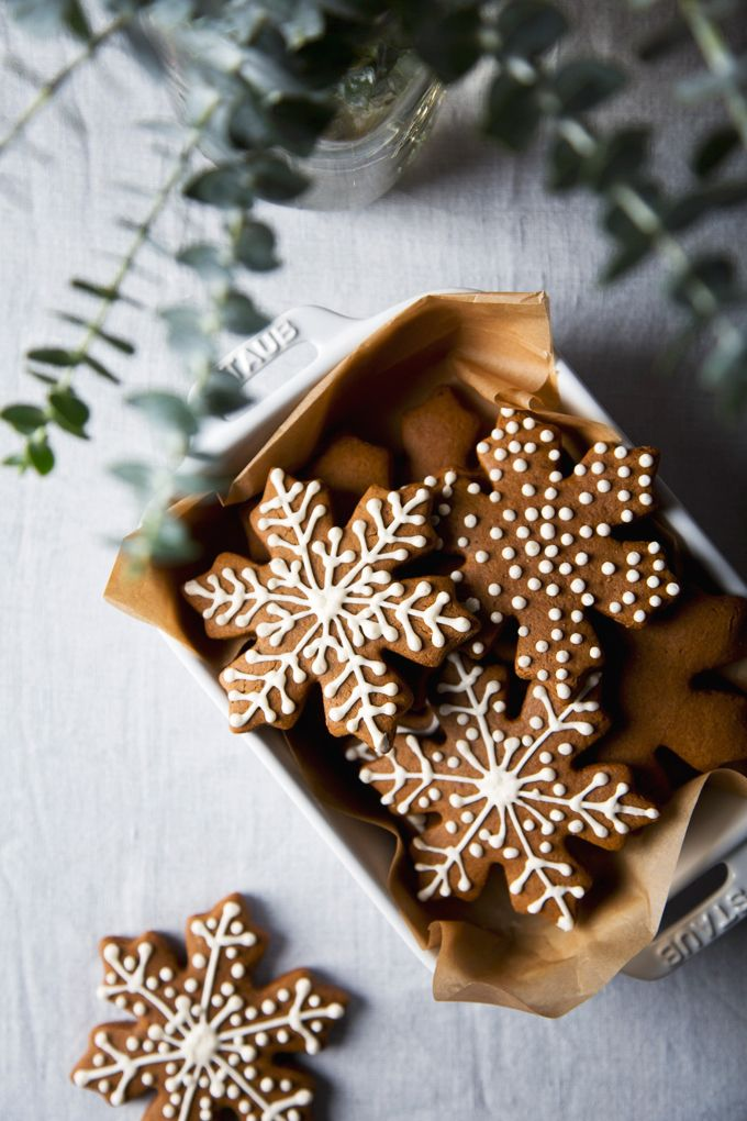 Vegan Gingerbread Cookies | picklesnhoney.com#cookies #gingerbread #recipe