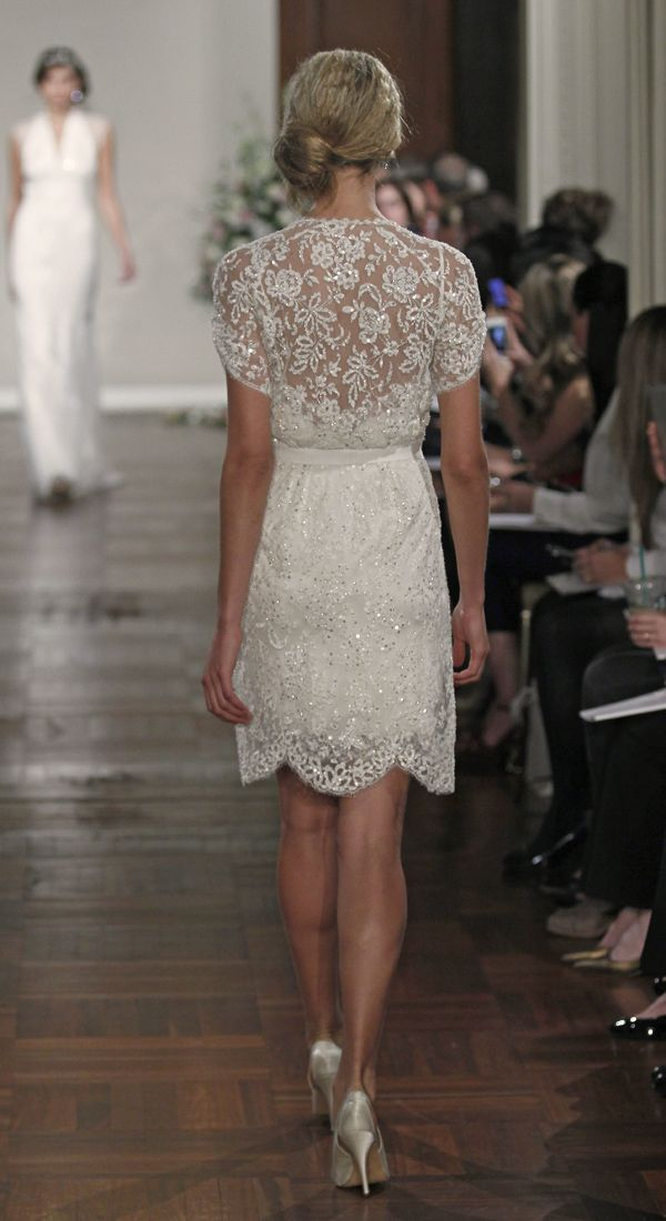 #JennyPackham Short #Wedding Dress - Buttercup