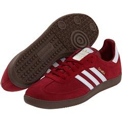 """adidas Originals - Samba® Suede    Cardinal Rad! I mean """"Red""""..."""