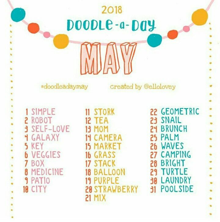 Challenge Draw Doodle Doodleaday May 2018 Paper Dolls Doodles Doll Sets