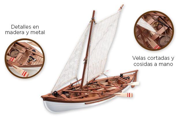 Providence - Maqueta de barco en madera // Wooden Model Kit. La ballenera de Nueva Inglaterra Providence fue la lancha ballenera por excelencia del s. XIX. Su modelo a escala 1/25 reconstruye pieza a pieza este mítico barco con tan alto nivel de detalle que te hará sentirte como el capitán Ahab a la caza de Moby Dick.