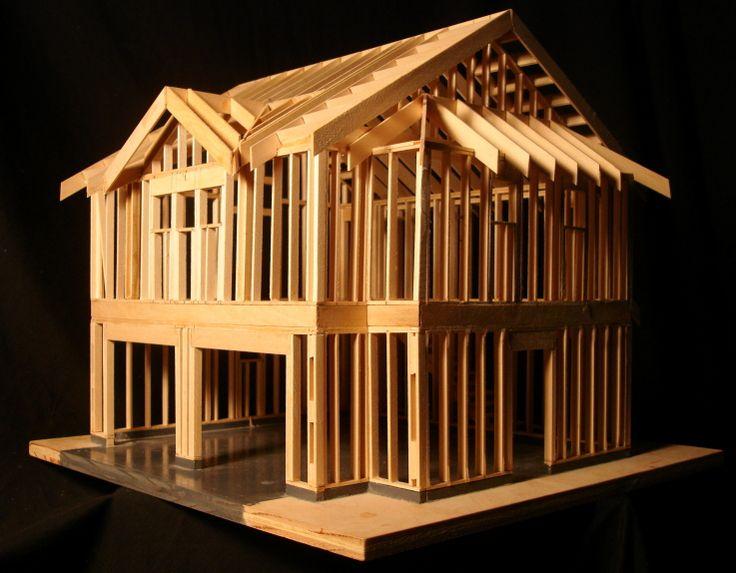 Wood Frame Construction : 1000+ images about wood frame construction on Pinterest  Models, Home ...