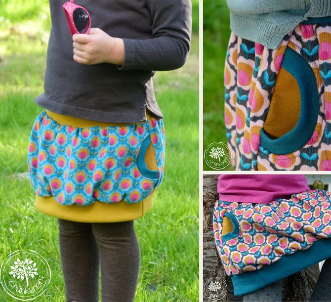 Lybstes. Ballonrock, Ballon Rock, Baby Bubble Skirt Freebook und Schnittmuster in Gr. 50-56