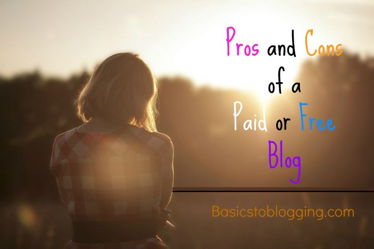 Thinking about starting a blog but contemplating whether you should get a free blogging platform or pay a relatively small fee to acquire hosting and a domain name?  This post will weigh out the pros and cons of a paid or free blog for you.