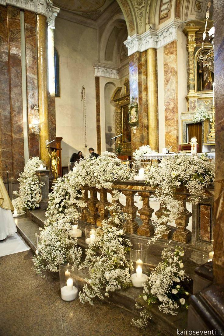 Allestimento in chiesa | Wedding designer & planner Monia Re - www.moniare.com | Organizzazione e pianificazione Kairòs Eventi -www.kairoseventi.it | Foto Oscar Bernelli
