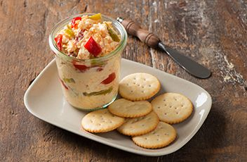 Pimiento Cheese Recipe | Mezzetta (I would omit the jalapeno pepper.)