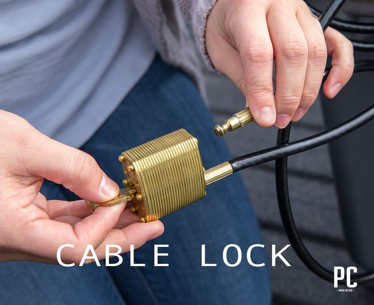Pelican Marine Cable Lock - Cooler lock for your high end cooler - Check them out at PelicanCoolers.com