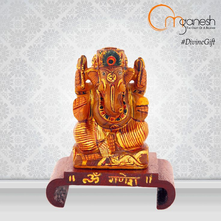 Welcome the power of intellect and success with an idol of lord Ganesha made from Moonstone. This is the perfect #DivineGift to achieve the best results in all endeavours.  http://bit.ly/1IGDQsf