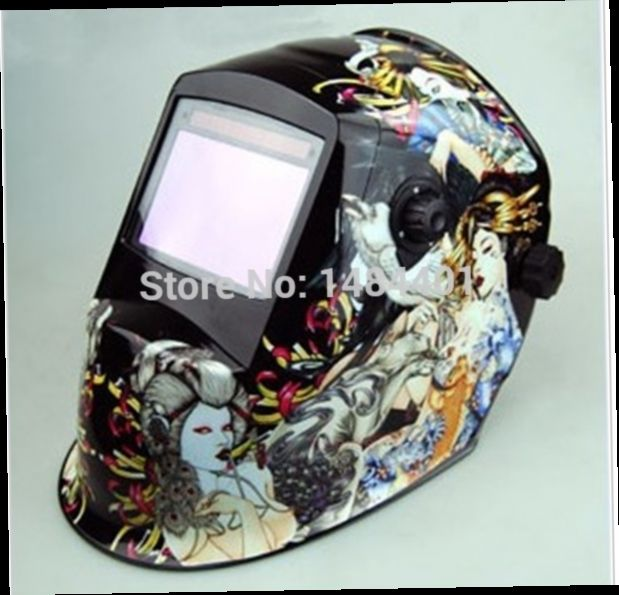 53.20$  Watch now - http://alihb1.worldwells.pw/go.php?t=32249536532 - 15 years of dedicated welding helmet Chrome Brushed plasma cutter Auto darkening free post 53.20$