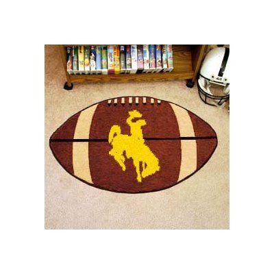 FANMATS NCAA University of Wyoming Football Doormat