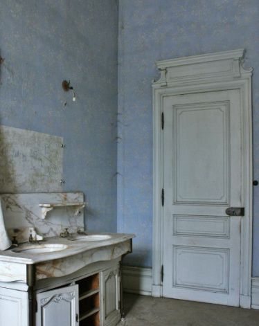 Bathroom Osborne House Copyright English Heritage Blue Bathroom See