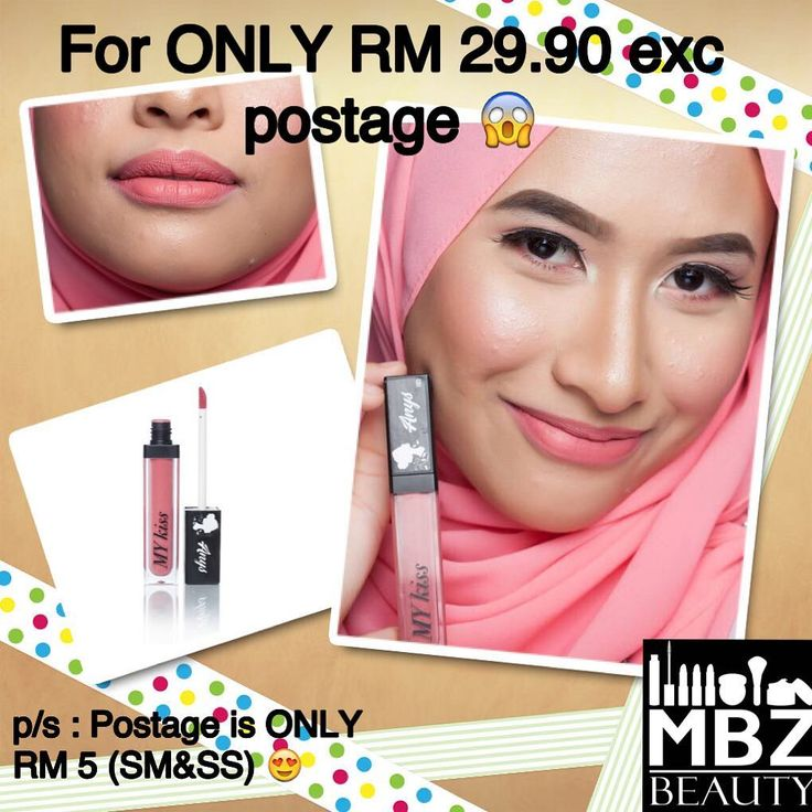 ����. Be confident with our  Aloe Vera Based LipCream ����. . The price is only :- RM 29.90 for ALL COLORS �� . .  What is so SPECIAL bout us???! ��������. . We're an affordable LipCream with a high quality Matte Cream��. . Yang mana kulit kering or bibir kering serious sesuai sangat cause our lipcream tak keringkan bibir unlike other lipsmatte��. . .  It can be long lasting but texture die sangat lembut so makes it easy to remove. Mesra wudhu' gittew����. . . . Serious sweet sangat color…