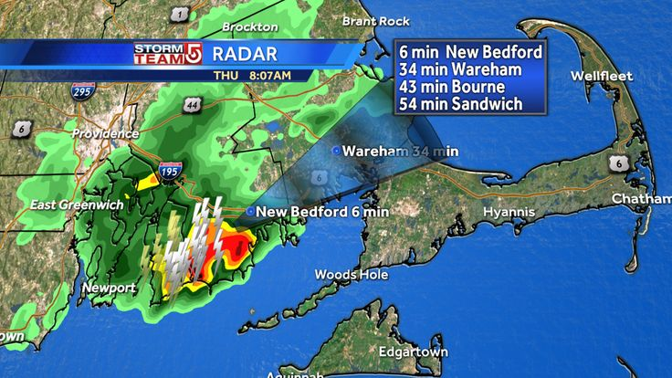 I'm tracking a strong thunderstorm with torrential rain & lots of lightning. It is moving northeast. Be alert! #WCVB