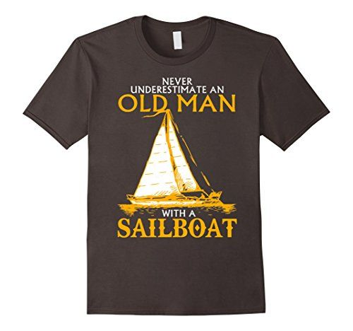 Old Man with a Sailboat T-Shirt